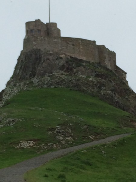 The castle on Lindisfarne